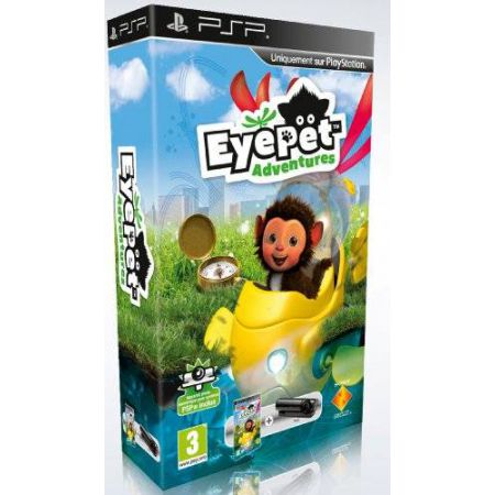 Jeu Psp - Eyepet Adventures + Camera