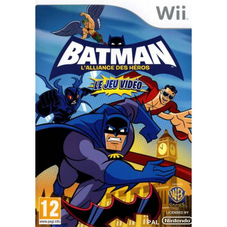 Jeu Wii - Batman L Aliance Des Hero Le Jeu Video