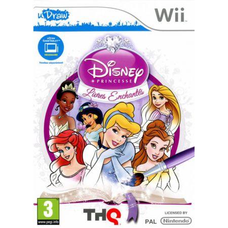 Jeu Wii - Disney Princesse : Livres Enchantes (Udraw)