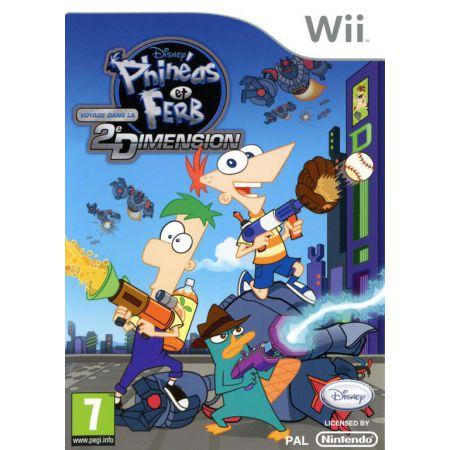 Jeu Wii - Phineas et Ferb : Voyage Dans La Deuxieme Dimension