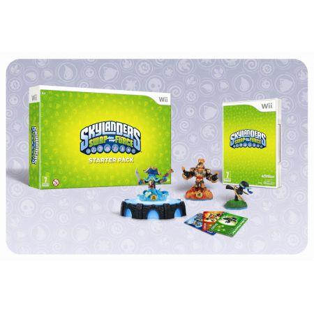 Jeu Wii - Skylanders : Swap Force - Pack De Démarage / Starter Pack