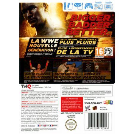 Jeu Wii - Smack Down WWE 12