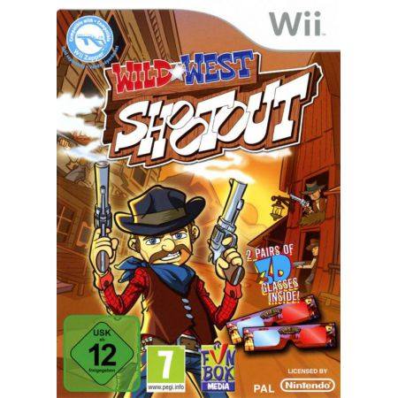 Jeu Wii - Wild West Shootout