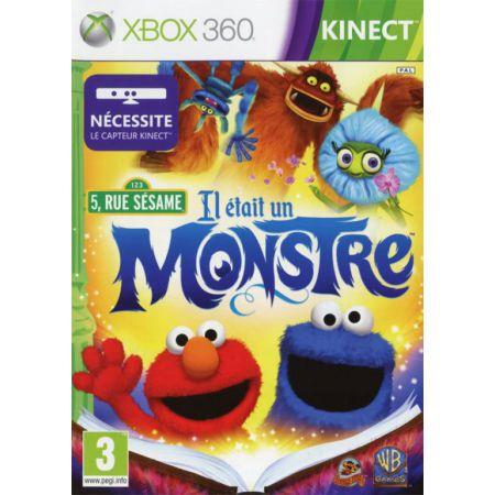 Jeu Xbox 360 - 5, Rue Sesame : Il Etait Un Monstre