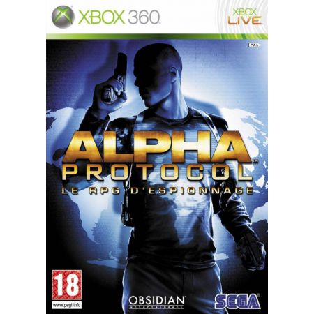 Jeu Xbox 360 - Alpha Protocol : Le RPG D'Espionnage