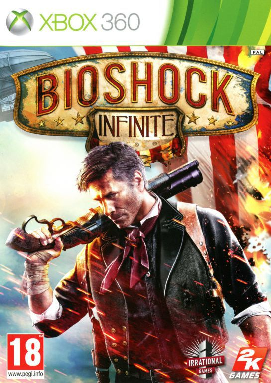 jeu xbox 360 bioshock infinite jeux video xbox 360. Black Bedroom Furniture Sets. Home Design Ideas