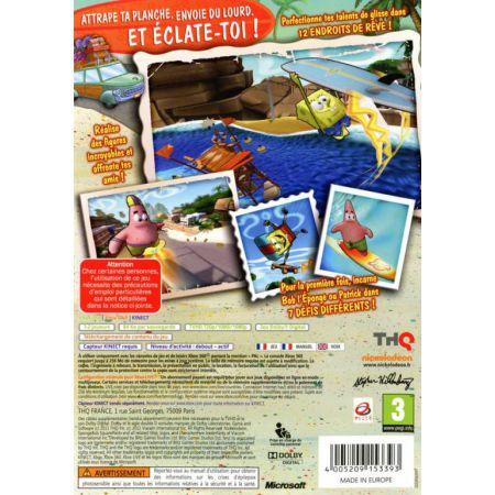 Jeu Xbox 360 - Bob L'eponge Surf & Skate Roadtrip