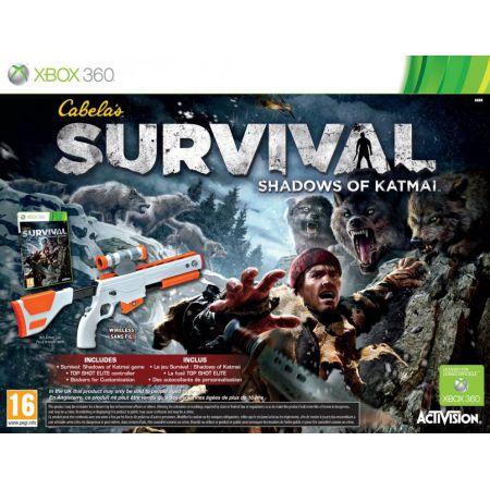 Jeu Xbox 360 - Cabelas Survival Shadows Of Katamai + Fusil Sans Fil