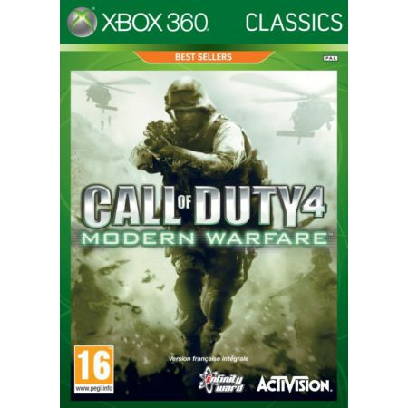 Jeu Xbox 360 - COD - Call Of Duty 4 : Modern Warfare