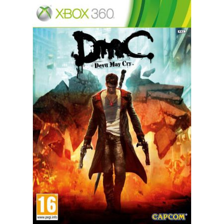 Jeu Xbox 360 - DMC : Devil May Cry