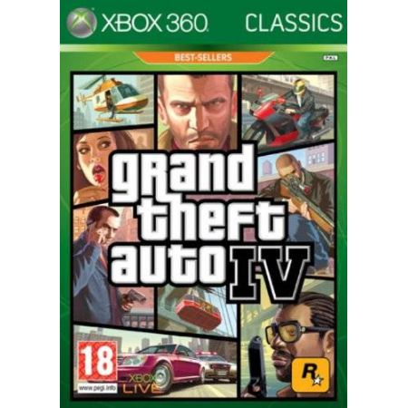Jeu Xbox 360 - Grand Theft Auto 4 : GTA IV Classics