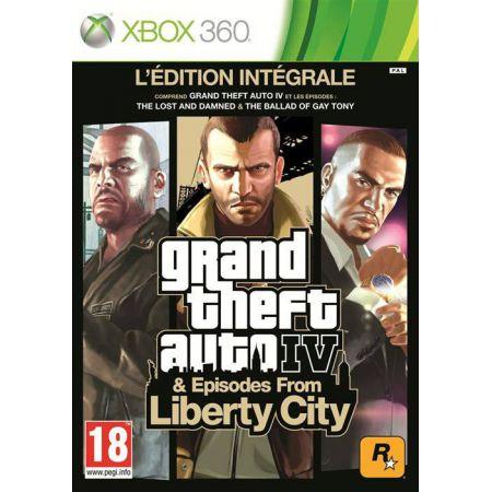 Jeu Xbox 360 - GTA IV Edition Intégrale Episodes From Liberty City