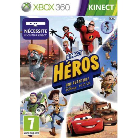Jeu Xbox 360 - Kinect Heros Une Aventure Disney Pixar