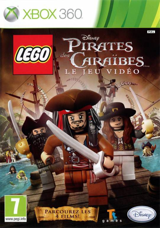 jeu xbox 360 lego pirates des caraibes jeux video. Black Bedroom Furniture Sets. Home Design Ideas