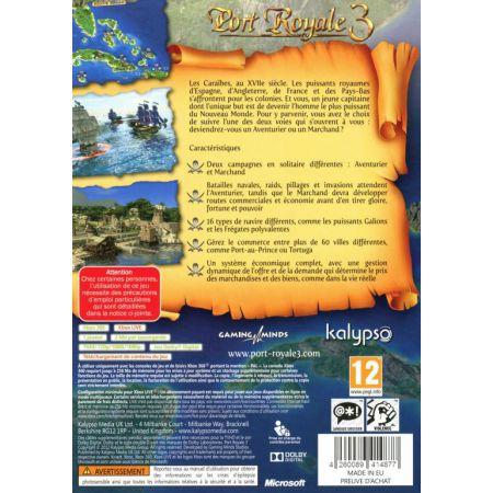 Jeu Xbox 360 - Port Royale 3