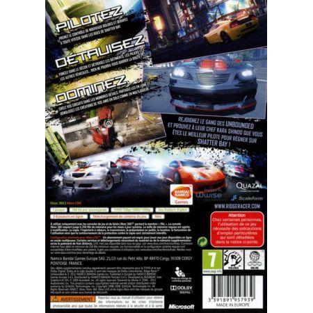 Jeu Xbox 360 - Ridge Racer Unbounded Edition Limitée