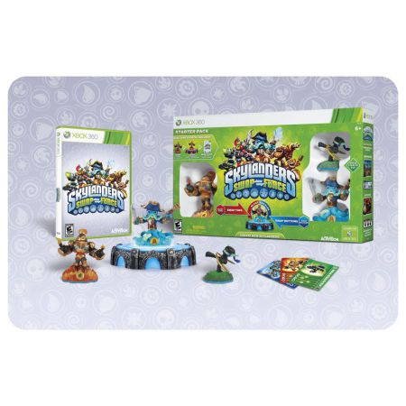 Jeu Xbox 360 - Skylanders : Swap Force - Pack De Démarage / Starter Pack