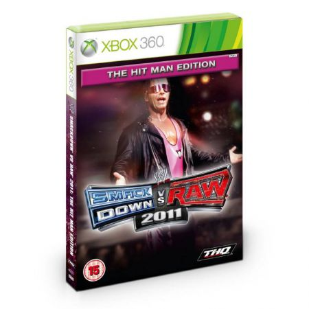 Jeu Xbox 360 - Smack Down Vs Raw 2011 (The Hit Man Edition)