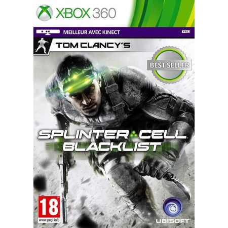 Jeu Xbox 360 - Splinter Cell Blacklist