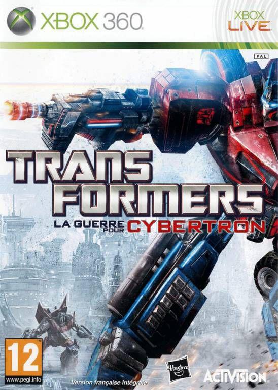 Jeu Xbox 360 - Transformers La Guerre Pour Cybertron - Jeux Video