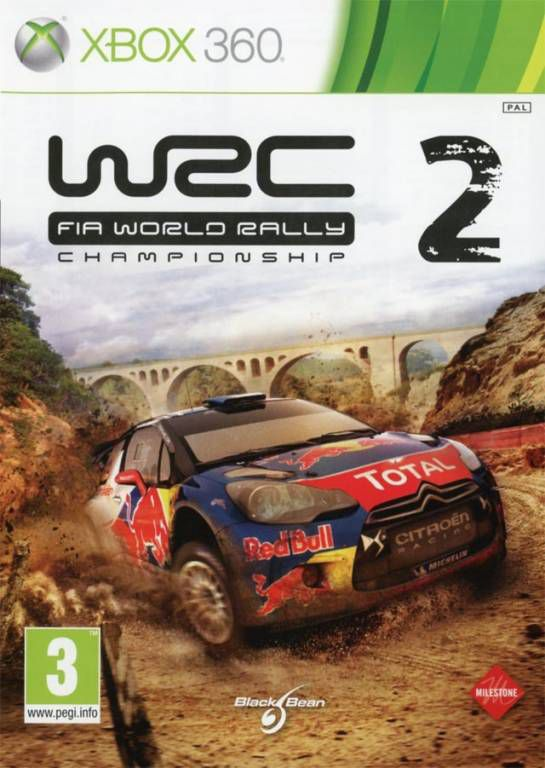 jeu xbox 360 wrc 2 fia world rally championship jeux video xbo. Black Bedroom Furniture Sets. Home Design Ideas