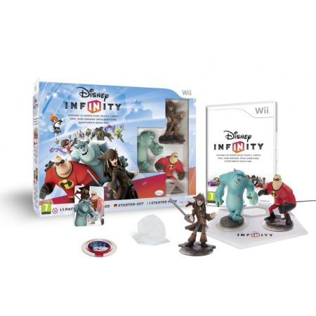 Jeux Wii - Disney Infinity : Starter Pack