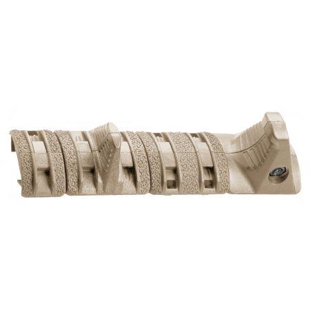 Kit 4 Pièces Hand Stop Type XTM Magpul pour Rail Picatinny - Tan