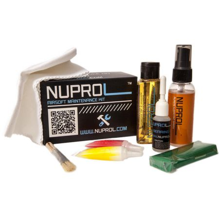 Kit Entretien WE Nuprol - Replique Airsoft GBB GNB GAZ Co2 AEG