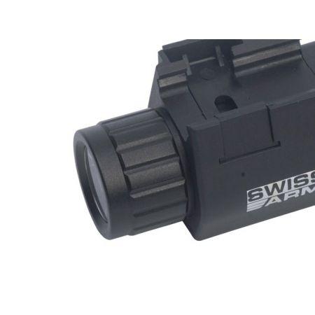 Lampe LED Tactique Compacte Flashlight Pour Pistolet - Rail Picatinny - 263863