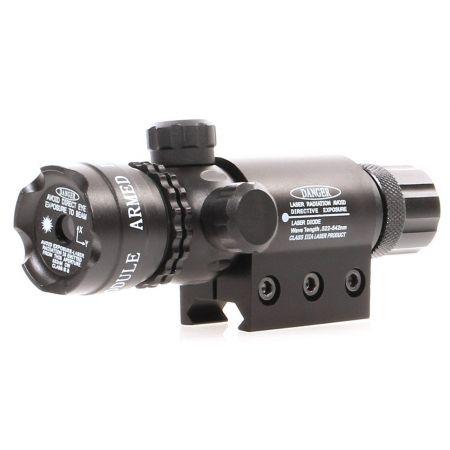 Laser 3R Rouge Puissant High Power Full Metal Delta Tactics Noir AC12338