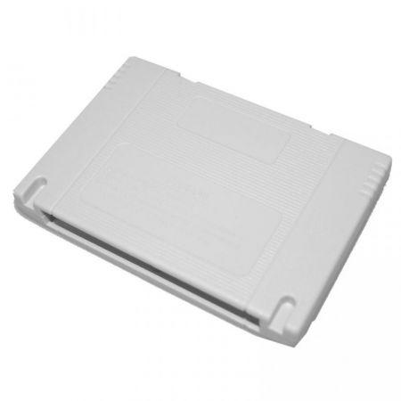 Lot 10 Boitiers Cartouches Vierge Jeu Super Nintendo Snes - Remplacement Reparation