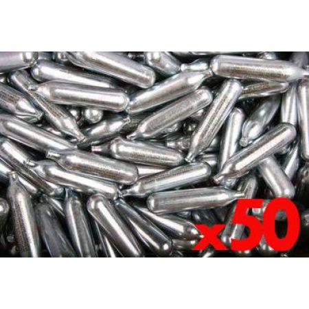 Lot 50 Cartouches Sparclettes Co2 Cybergun 12g