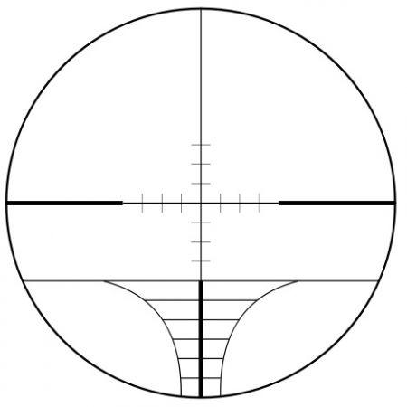 Lunette de Visée AOEG (Scope) 2-6x32 Réticule Lumineux Range-Finder