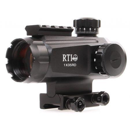 Lunette Red Dot Tube 1x35 Point Rouge + Rail Picatinny - RTI Optics