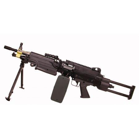 Machine Gun FN Herstal Minimi M249 Para AEG Full Metal Noir - 200951