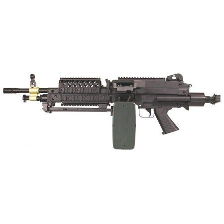 Machine Gun FN Herstal Minimi MK46 (MK 46) Full Metal Noir A&K 200952