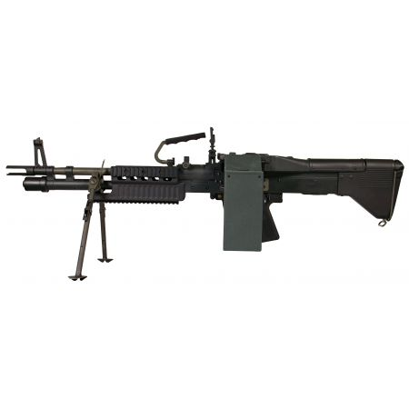Machine Gun US Ordnance M60E4 MK43 Commando AEG Full Metal ASG ARES 16990