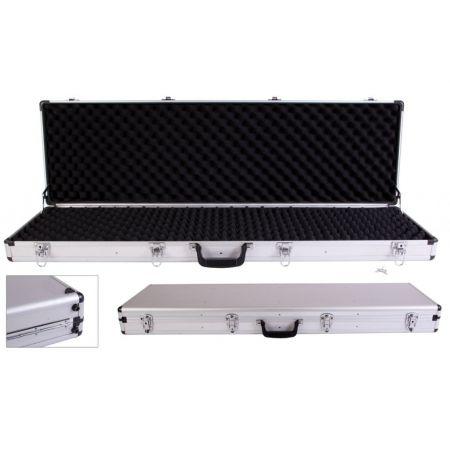 Mallette Aluminium 110x36x11cm avec Mousse & 4 Serrures - Fusils & Repliques Longues