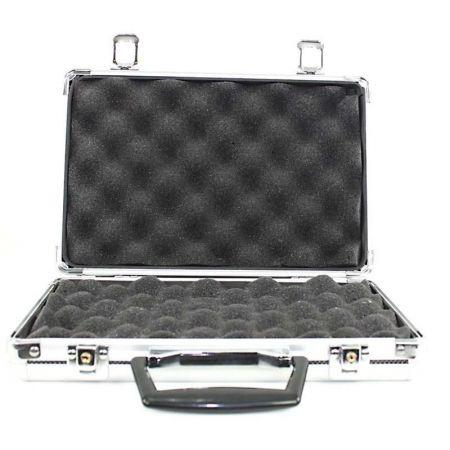 Mallette en Aluminium avec Mousse pour Pistolet Mitrailleur 40x28.5x9cm Dmoniac - 911616