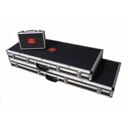 Mallette en Aluminium avec Mousse pour Replique Longue 120x40x11cm Dmoniac - 911610