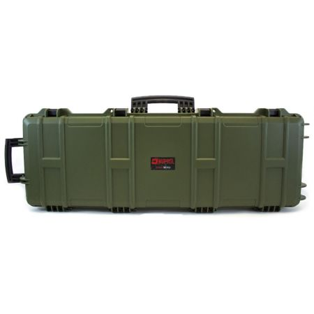 Mallette Transport Rigide Nuprol Waterproof 105x33x15 Fusil Olive MAL751