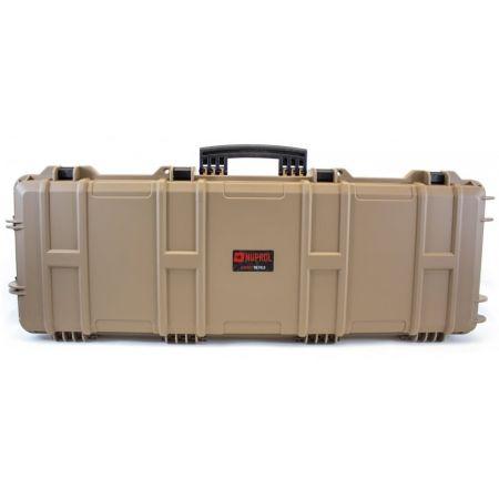 Mallette Transport Rigide Nuprol Waterproof 105x33x15 Fusil Tan MAL752