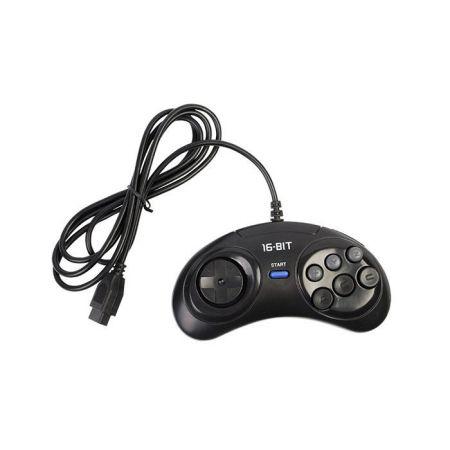 Manette 6 Boutons Console Sega Megadrive Genesis 1 & 2 - Under Control