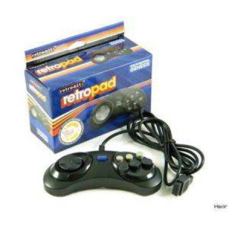 Manette 6 Boutons Pour Console Sega Megadrive (Genesis) & Master System