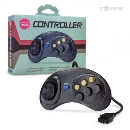 Manette 6 Boutons pour Sega MD Megadrive Genesis 1 & 2 - Tomee