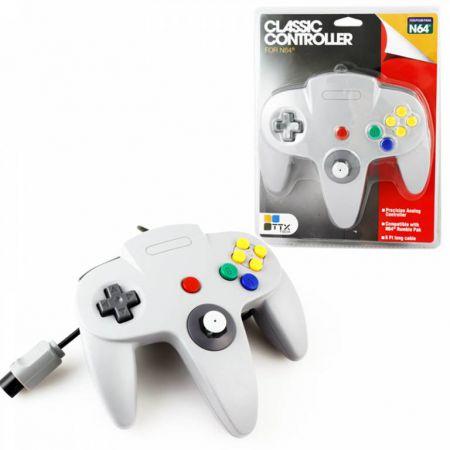 Manette Analogique Gris Nintendo 64 N64 TTX Tech - NXN64020