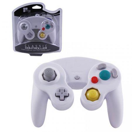 Manette Blanche Classique Pour Console GameCube & Wii