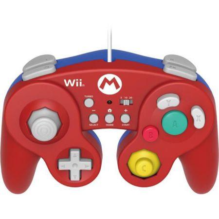 Manette Classique Turbo Nintendo Wii U Hori - Mario Super Smash Bros - WIIU-075U