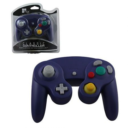 Manette Console Nintendo GameCube & Wii Violette - AGC1223