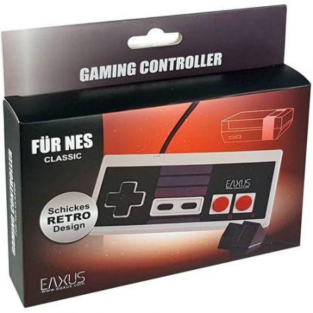 Manette Filaire Classic Console Nintendo NES - EAXUS
